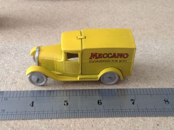 "Dinky Toys copy model 28 Series Type 1 Delivery Van ""Meccano Engineering For Boys"""